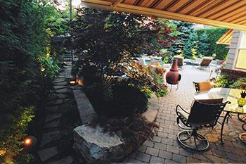 avalon landscaping back yards