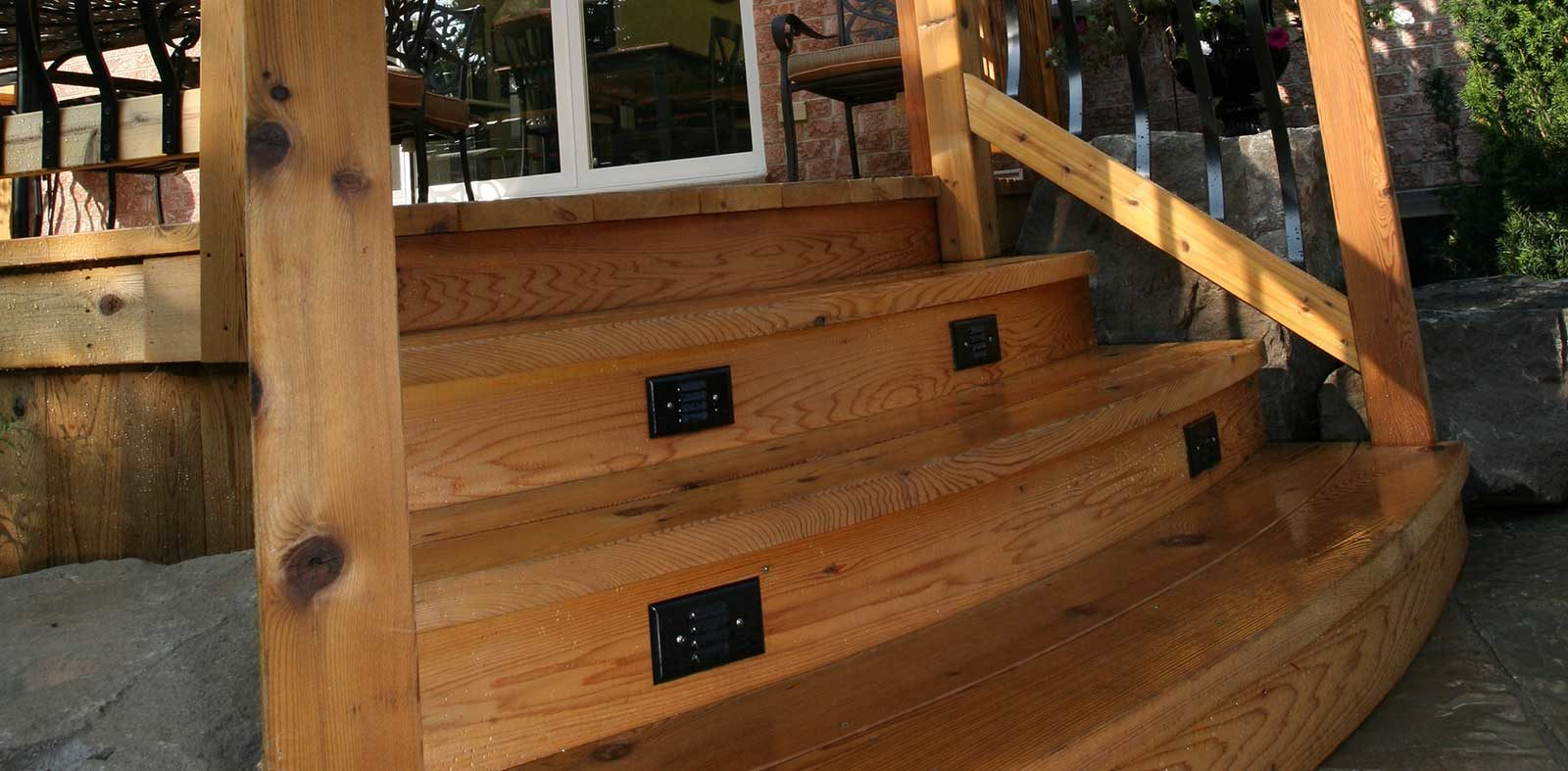 woodwork landscaping